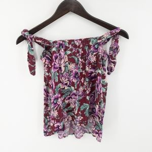 American Eagle Outfitters Tops - American Eagle Off The Shoulder Floral Tank Top